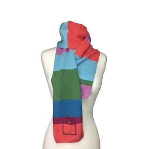 LL Bean Lightweight Cashmere Scarf - Multicolored